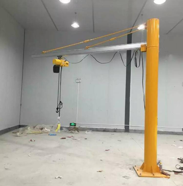250KG铝轨柱式悬臂吊