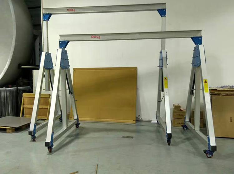 500kg铝合金龙门架