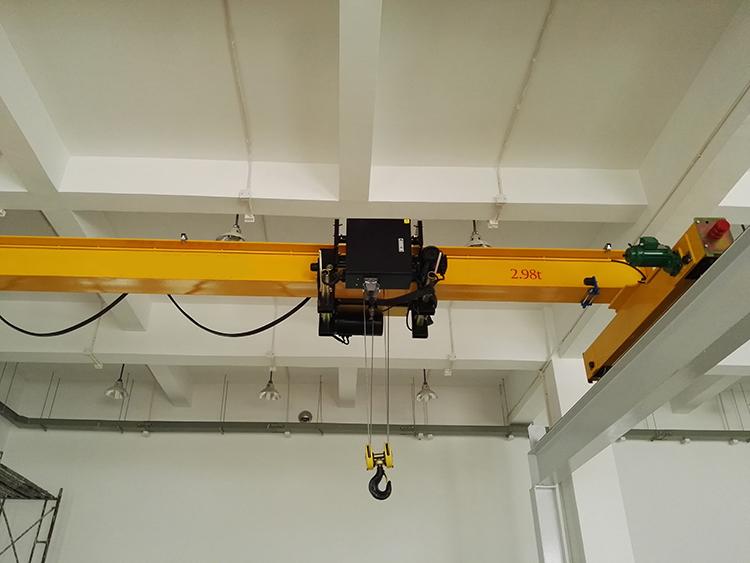 3t欧式单梁桥式起重机