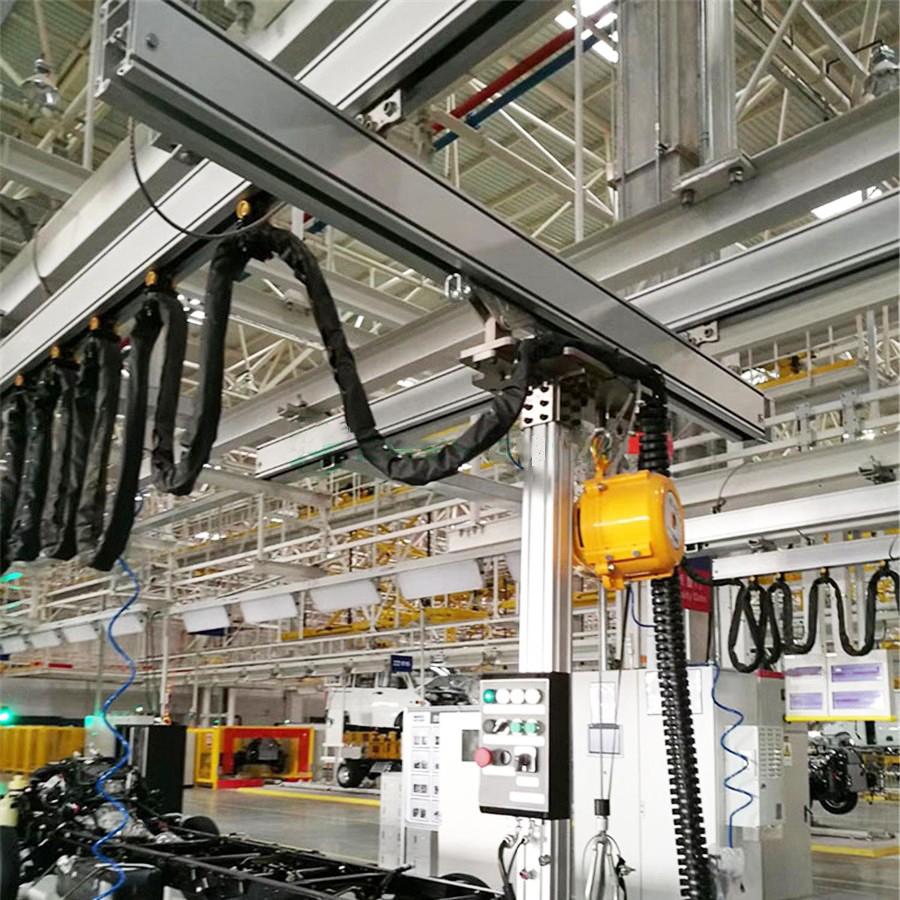 铝质悬挂起重机